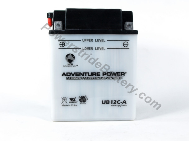 Adventure Power UB12C-A Battery (YB12C-A) (42522+D1724)