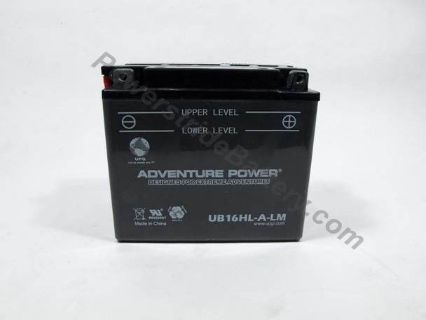 Adventure Power UB16HL-A-LM Battery (YB16HL-A-CX)
