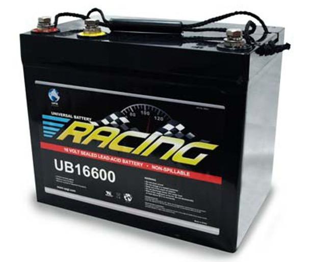 16 Volt Racing Battery - UB16600 - 16BAT-U (40653)