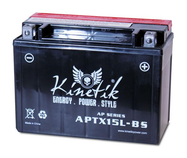 Adventure Power UTX15L-BS Motorcycle Battery