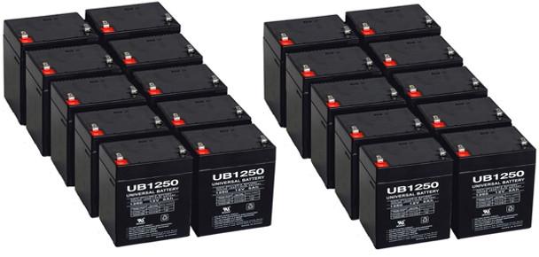 12 Volt 5 Ah SLA Battery - 20 Pack
