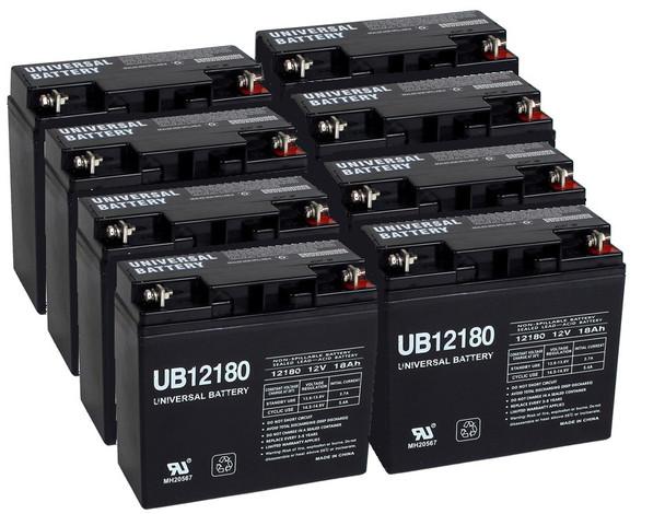 12 Volt 18 Ah UPS Batteries - 8 Pack