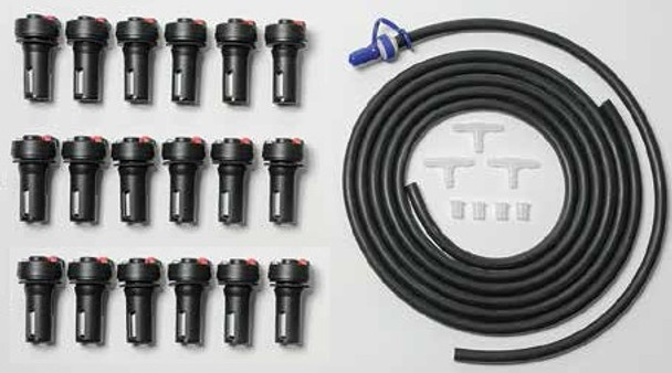 Battery Builders Forklift Battery Watering System for 18 Cells - TB4 Valves
