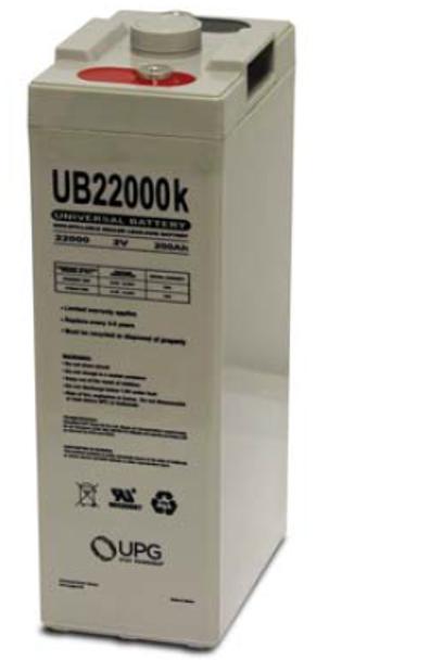 2 Volt 200Ah AGM Battery - UB22000 (45797)