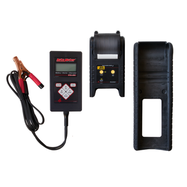 Auto Meter BVA-300PR Battery and Electrical System Tester w/ Printer