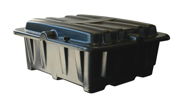 8D Dual Battery Box - Side-by-Side