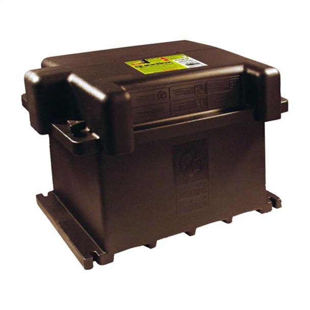 6V/GC2 Dual Battery Box - Black