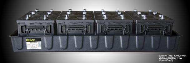 8D/4D Battery Tray - 4 Battery Tray (120225-001)