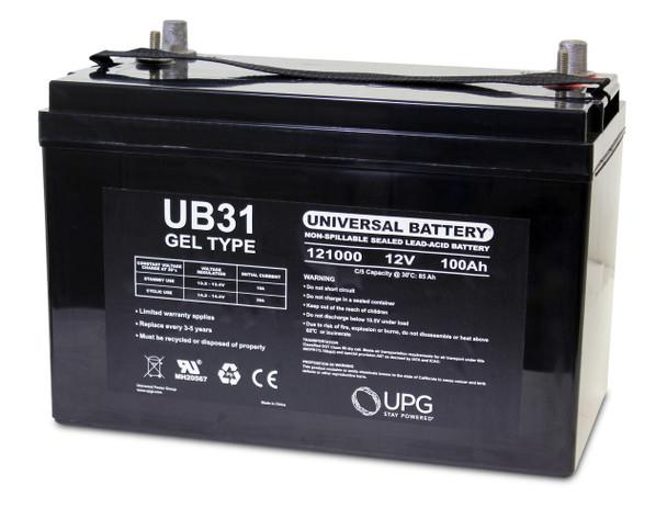 12 Volt 100 Ah Gel Cell Sealed Lead Acid Battery