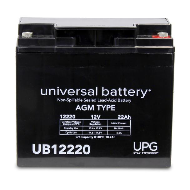 12 Volt 22 Ah SLA Battery - UB12220IT