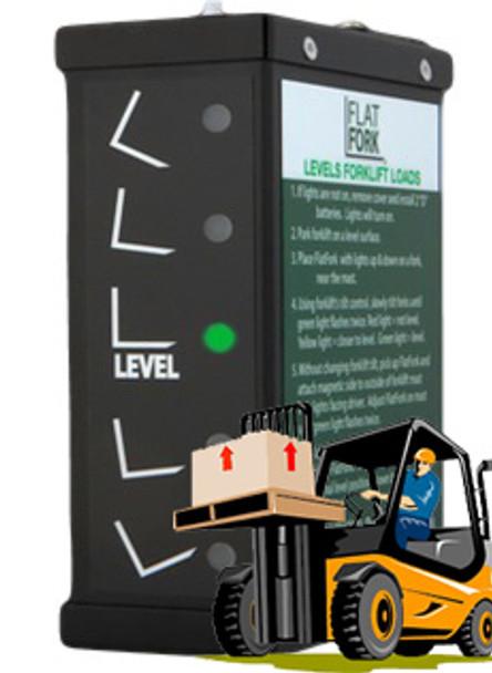 Flat Fork - Digital Load Level Indicator
