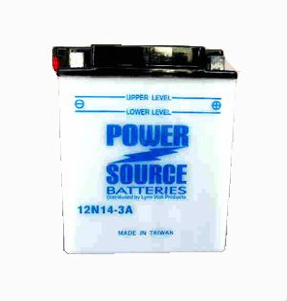12N14-3A Battery by Power Source