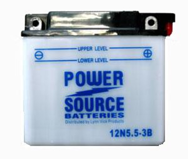 12N5.5-3B Battery by Power Source