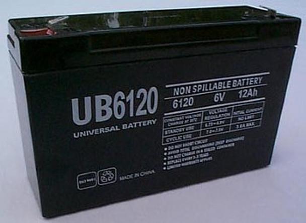 Chloride 1000010136 Emergency Lighting Battery - UB6120