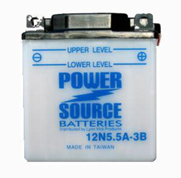12N5.5A-3B Battery by Power Source