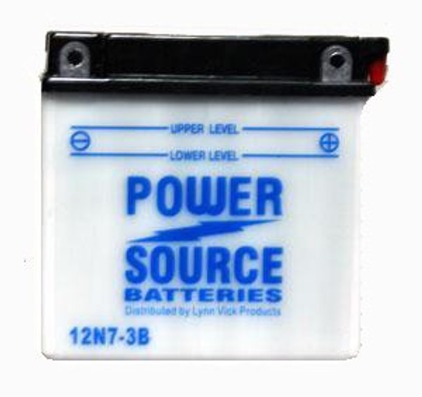 12N7-3B Battery by Power Source