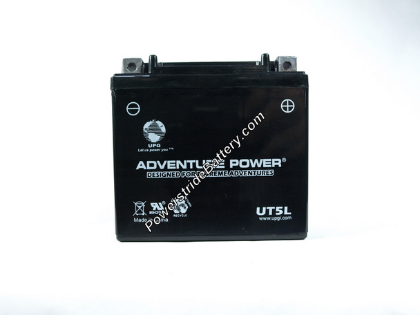 Adventure Power Motorcycle Battery Model #UT5L