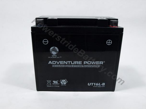 Adventure Power UT16L-B AGM Battery - YB16L-B