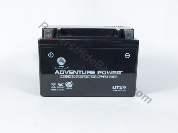Adventure Power UTX9 AGM Battery - YTX9-BS
