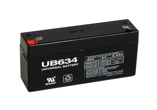 Dantona Lead 6V 3.4P Battery Replacement