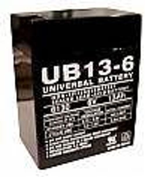 Dual Lite 12612 Emergency Lighting Battery