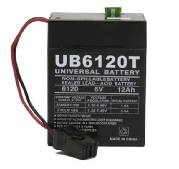 Dual Lite Emergency Lighting Battery - UB6120