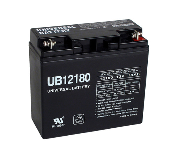 Dual-Lite 12582 Emergency Lighting Battery