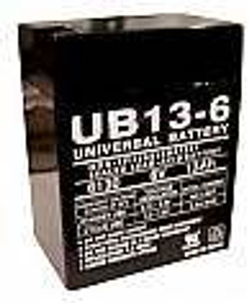 Emergi-Lite 12LC2002 Emergency Lighting Battery