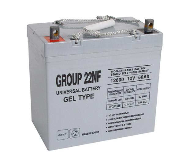 Invacare New Nutron R51 Gel Wheelchair Battery