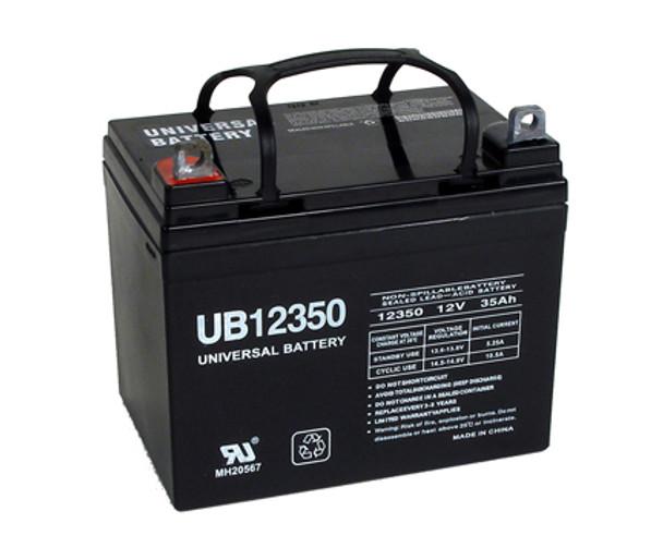 John Deere 110: 8 HP Garden Tractor Battery