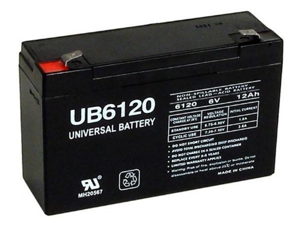 Kong Long WP12-6 Replacement Battery