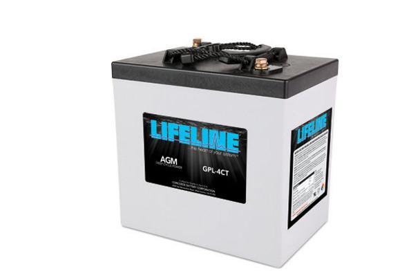 Lifeline GPL-4CT 6 Volt Deep Cycle AGM Battery