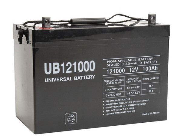 Mayville Engineering Co. (MEC) Quadrex-E model Battery  Replacement