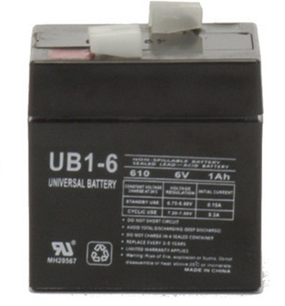 Medical Research Labs 524 Portacare Monitor Battery
