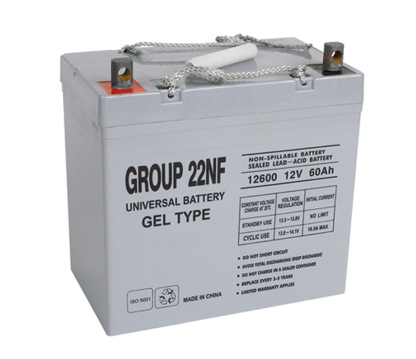 Merits Health Products MP3R (Gemini) Gel Wheelchair Battery