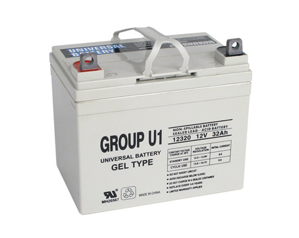 Merits Health Products Pioneer 4 S1413 Gel Wheelchair Battery