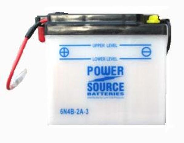 6N4B-2A-3 Motorcycle Battery