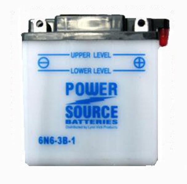 6N6-3B-1 Motorcycle Battery