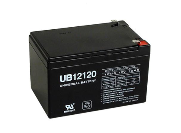 Potter Electric BT120 / BT-120 Alarm Battery