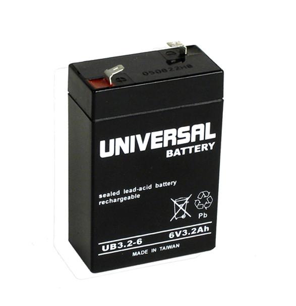 Potter Electric PFC-100R / PFC100 Alarm Battery - Model UB632