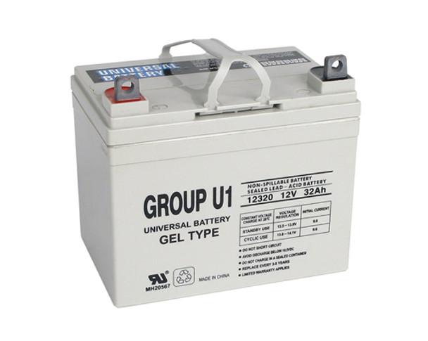 Pride Quantum 610 Gel Scooter Battery