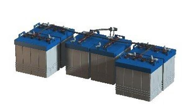 Pro-Fill Watering Kit for 48V EZ GO RXV Golf Cart - Trojan 12V Batteries