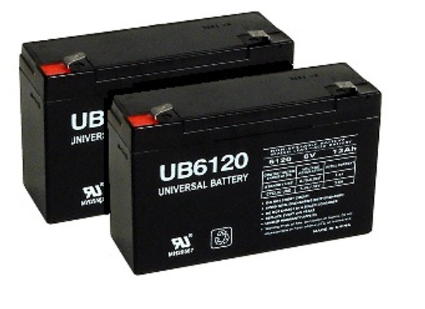Replacement for APC RBC18 UPS Battery