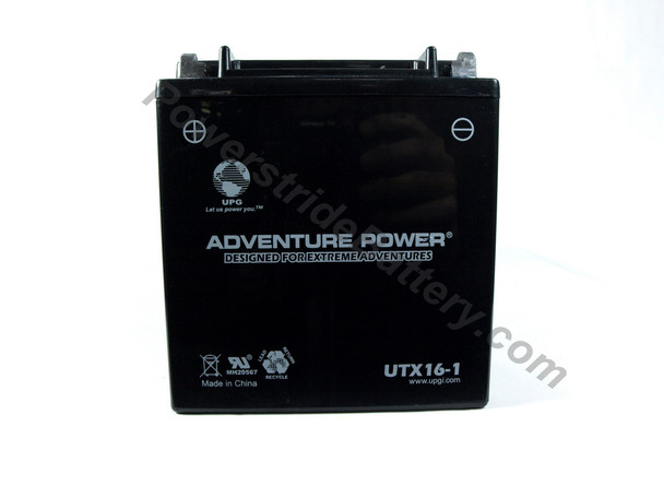 Suzuki S83 Motorcycle (87-06) Battery - UTX16-1