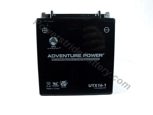 Suzuki VS1400S83 Intruder (87-06) Motorcycle Battery - UTX16-1