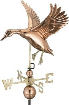 Landing Duck Weathervane 3