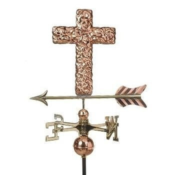 Cross Weathervane