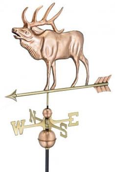 Elk Weathervane 2