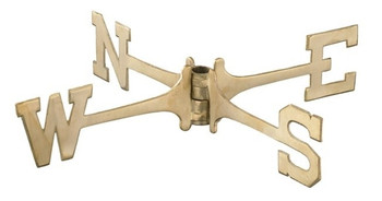 Brass Weathervane Directionals