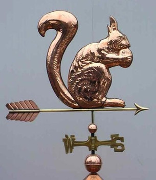 Squirrel Weathervane 1